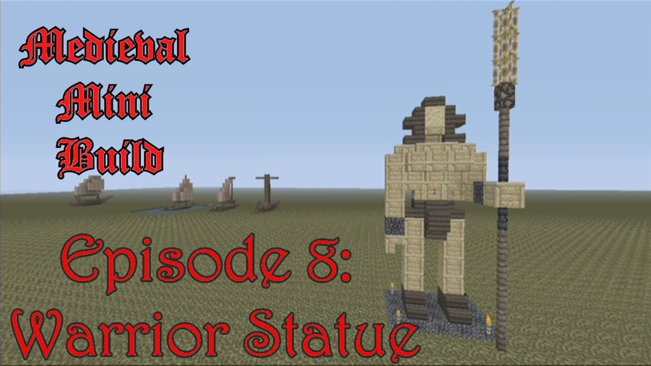How To Build A Medieval Statue In Minecraft