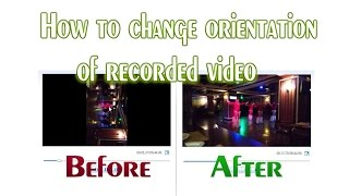 windows movie maker rotate video || Free || How To Do