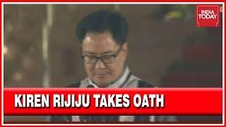 BJP's Face In The Northeast, Kiren Rijiju Takes Oath As Union Minister