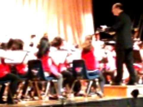 Herbert Hoover Middle school Pops concert 2010