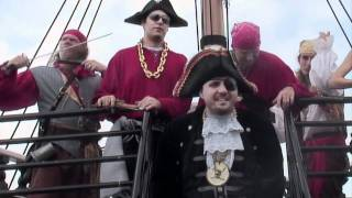 Watch Captain Dan  The Scurvy Crew From The Seas To The Streets video