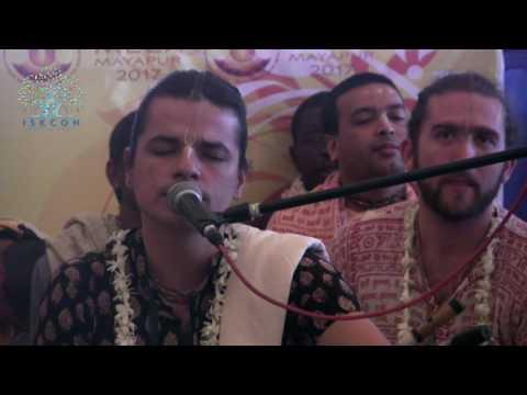 Mayapur Kirtan Mela 2017 Day 3 Kirtan by His Grace Krishna Kishor Das