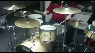 Mitch Mitchell groove on my Pearl Vision VBX drums