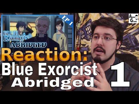 Blue Exorcist Abridged Ep. 1: #Reaction #AirierReacts