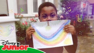? Make Your Rainbow Smile!   Disney Junior UK
