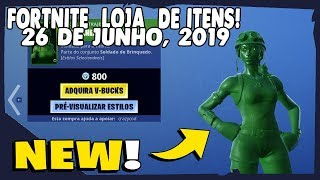 Fortnite Shop-today's shop 26/06/2019 new Skin Toy story?