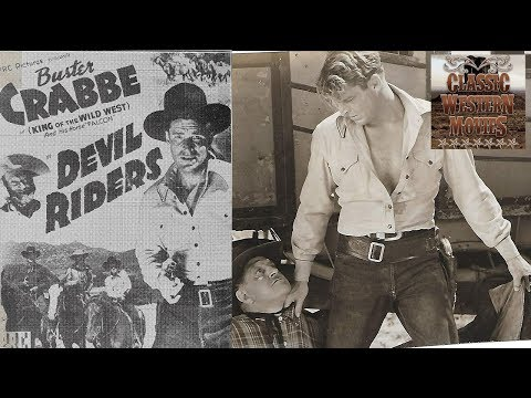 Devil Riders | Western (1943) | Buster Crabbe