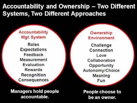 Accountability and Ownership - Management