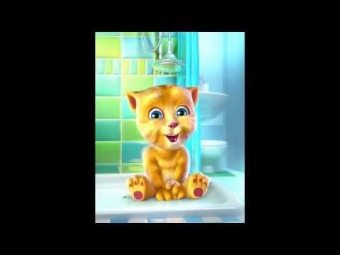 Talking Ginger sings