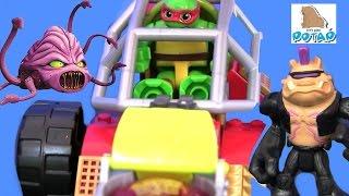 Черепашки Ниндзя Мультик. Вездеход Рафа! TMNT Видео для Детей #Мультфильм