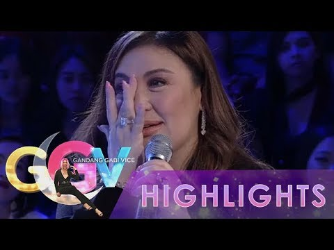 GGV: Sharon felt emotional as she talks about her past with Gabby Concepcion