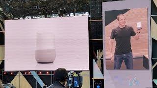 Google Home Demo - Google I/O 2016