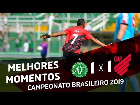 Chapecoense 1x1 Athletico Paranaense | MELHORES MOMENTOS