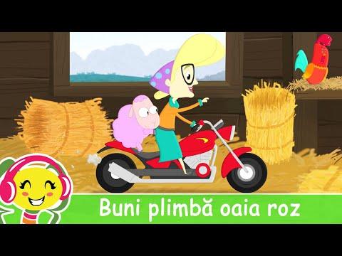 Buni Plimba Oaia Roz  Cantec amuzant pentru copii | CanteceGradinita – Cantece pentru copii in limba romana