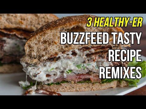 3 Healthy-er Versions of BuzzFeed Tasty Recipes / 3 Versiones Más Sanas de Recetas de BuzzFeed
