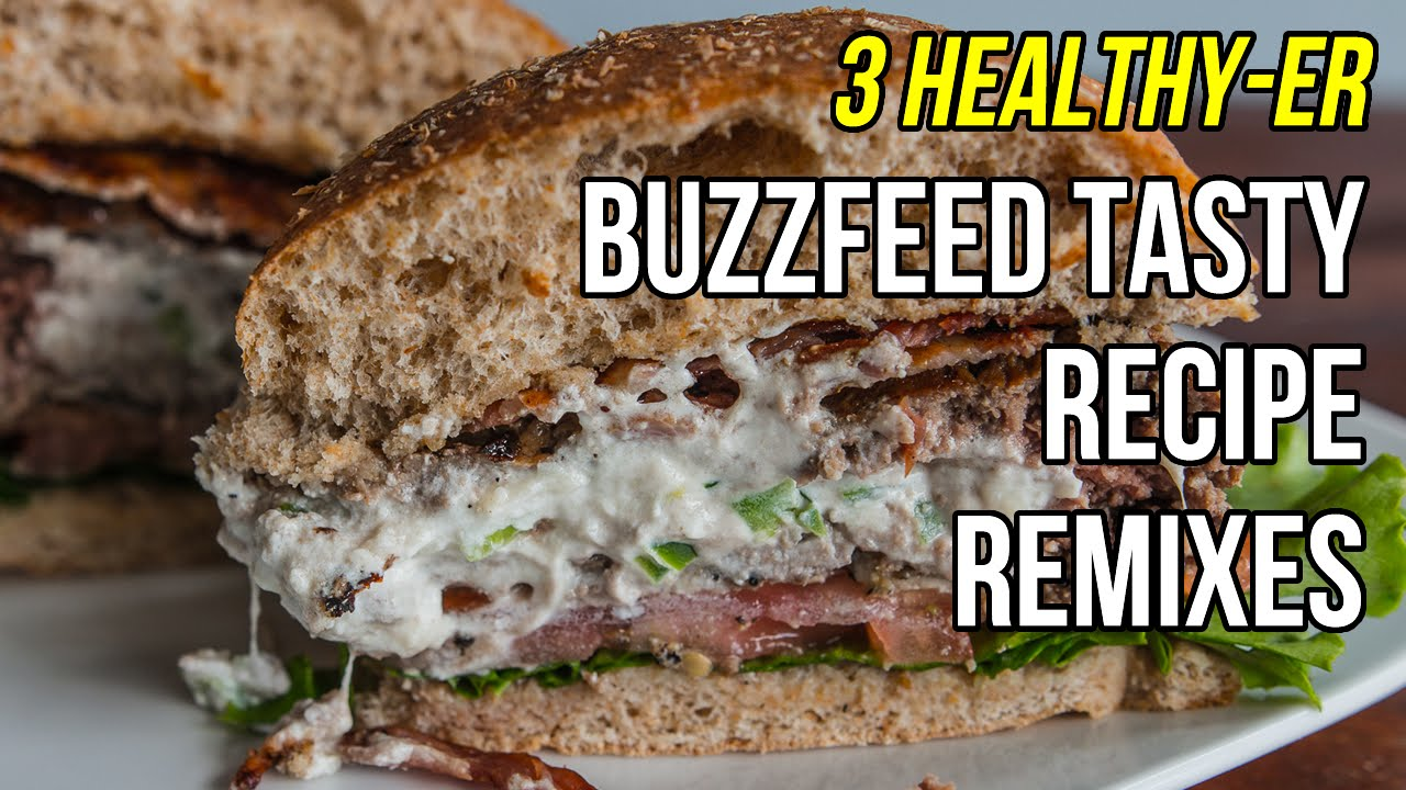 3 healthy er versions of buzzfeed tasty recipes 3 versiones ms 3 healthy er versions of buzzfeed tasty recipes 3 versiones ms sanas de recetas de buzzfeed youtube forumfinder Choice Image