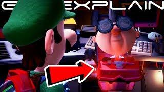 Luigi's Mansion 3 Has a Virtual Boy Spoof + Joke