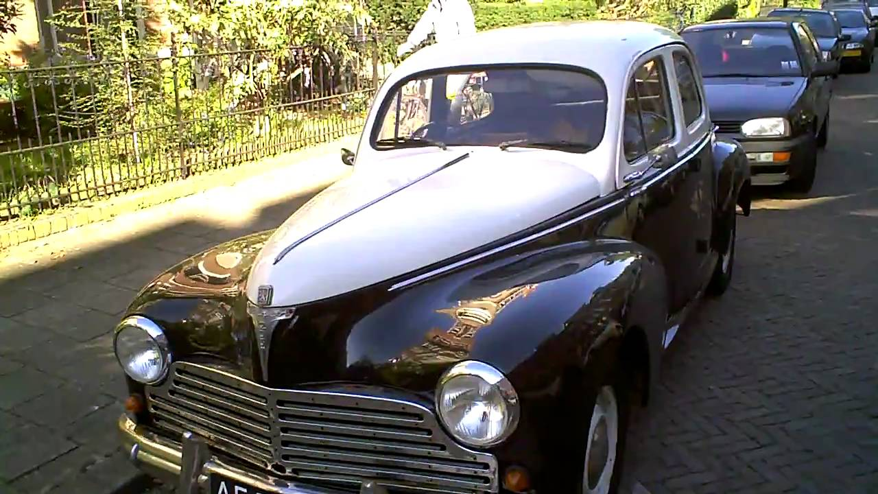 PEUGEOT 203 two tone , rhd , in nice condition !! - YouTube