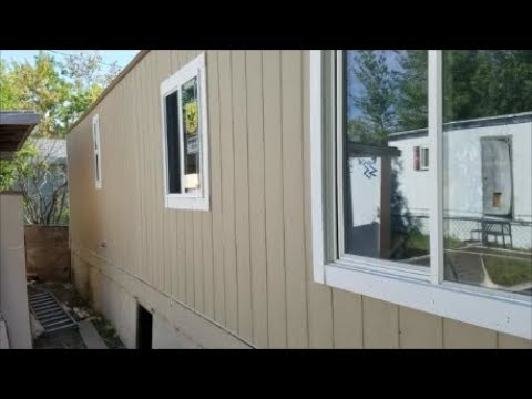 Trailer house siding The right way to re-side a Trailer house Mobile on