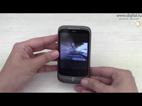 Видеообзор смартфона HTC Wildfire