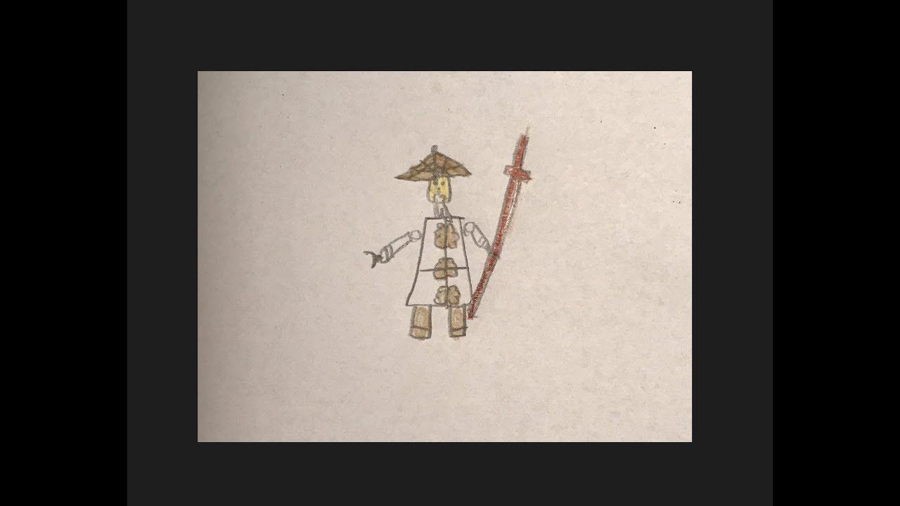 Wie man Meister Wu vom Lego Ninjago Movie zeichnet - Malvorlage für ...