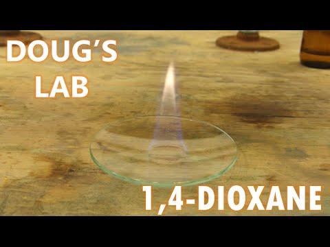 Acid-Catalyzed Dehydration: 1,4-Dioxane
