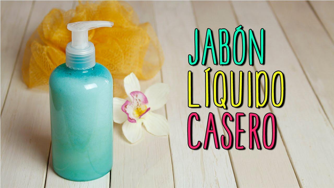 Jab n liquido casero para manos y cuerpo receta - Como hacer un ambientador natural para la casa ...