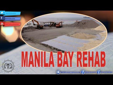 LAWYER AT ENVIRONMENTAL SCIENTIST NAGSALITA TUNGKOL SA MANILA BAY REHAB