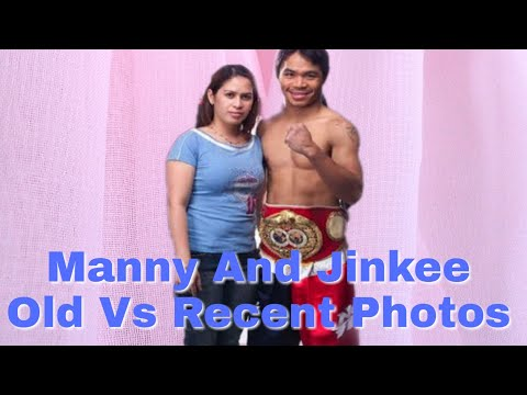 Manny Pacquiao And Jinkee  Old Vs Recent Photos