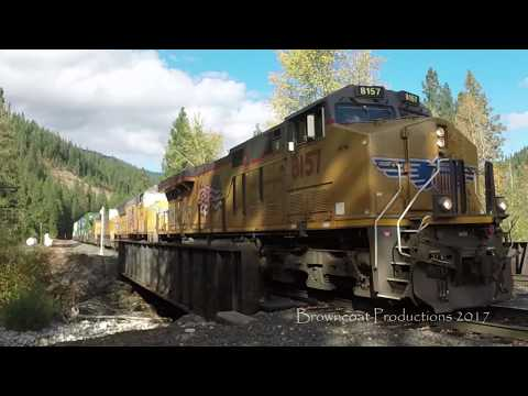 Dunsmuir CA Railfanning, November 4th, 2017