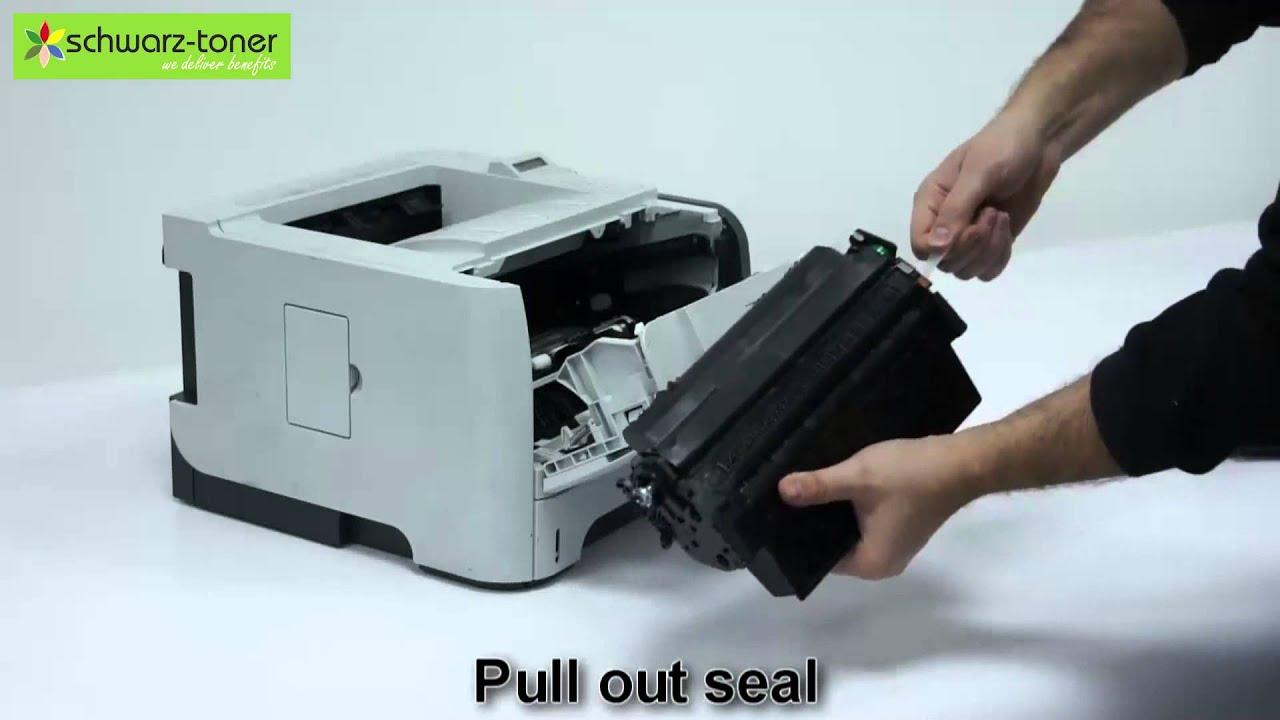 Hp Laserjet P 2055 Toner Cartridge Replacement User