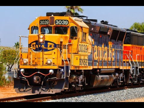 Frenzy of trains on the San Bernardino Subdivision