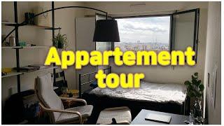 프랑스 유학생 l 파리 원룸 랜선 집들이 l APPAR…