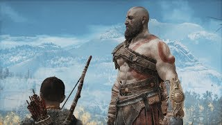 God of War 4 (2018) - Full Movie (ALL CUTSCENES w/ SUBTITLES) + SECRET ENDING [1080p HD]