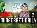 Minecraft Daily | Ep.6 Ft Lucie | Puppychef wants to play!
