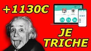 J'UTILISE UN ALGORITHME POUR GAGNER 1130€ (Pronostic foot Palier 7)