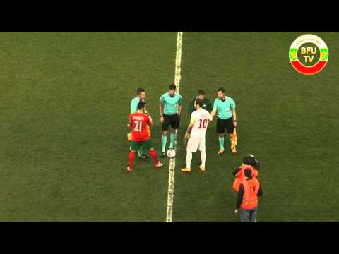 FYR Macedonia - Bulgaria  0:2 (friendly game )
