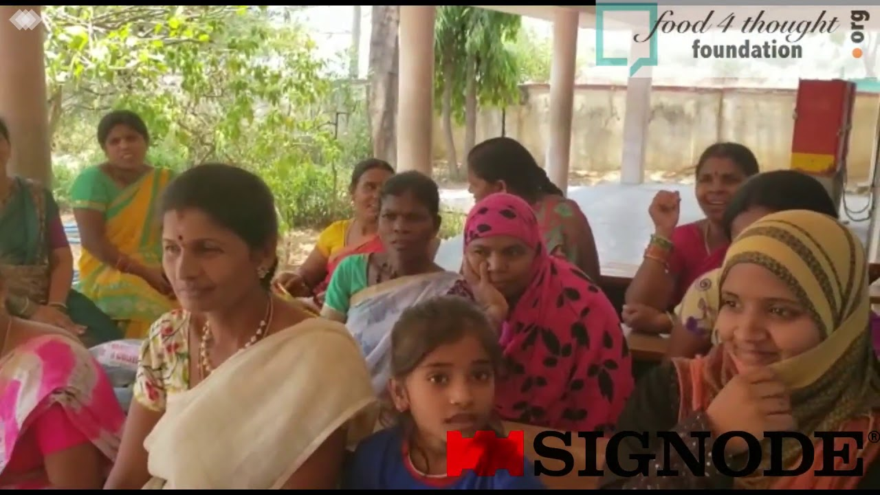 Joy of Reading Session at Gram Panchayat, Rudraram, Telagana