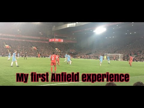 My first Anfield experience | Liverpool trip