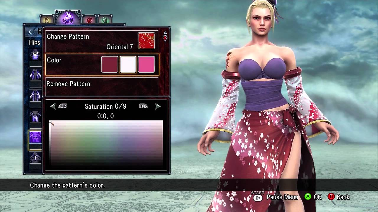 Soul Calibur V Cas Setsuka Soul Calibur Iv Updated
