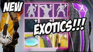 ★ Destiny - FREE EXOTICS FOR ALL SUBCLASSES NIGHTSTALKER EXOTIC CLOAK - STORMCALLER , SUNBREAKER