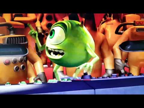 Monsters Inc Chase Scene