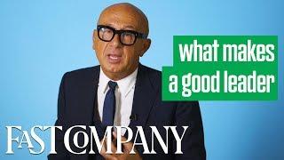 Gucci CEO Marco Bizzari on What Makes a Good Leader | Fast Company