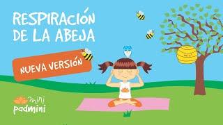 🐝 RESPIRACIÓN DE LA ABEJA | MINIPADMINI (Yoga para niños y niñas)