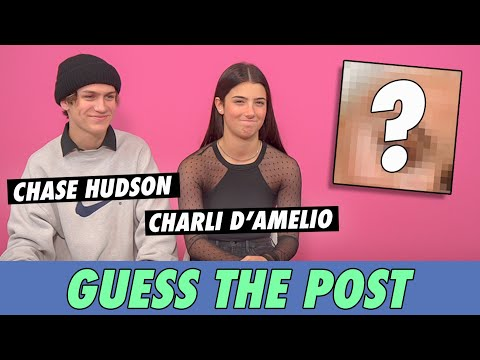 Charli D'Amelio vs. Chase Hudson - Guess The Post