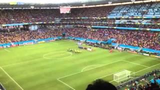 コスタリカ国歌 2014W杯 ギリシャ vs コスタリカ