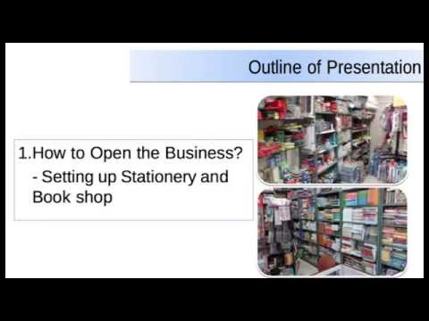 How to Open Stationary and Book Shop