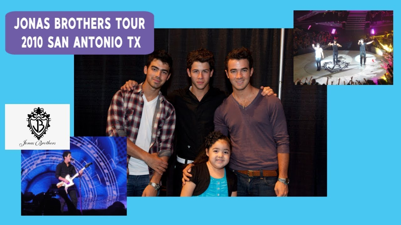 Jonas Brothers 2010 Concert In San Antonio Tx Youtube
