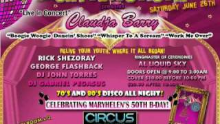 Circus Disco Reunion II featuring Claudja Barry Live