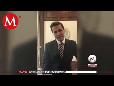 ¿Qué marca de gel usa Enrique Peña Nieto?